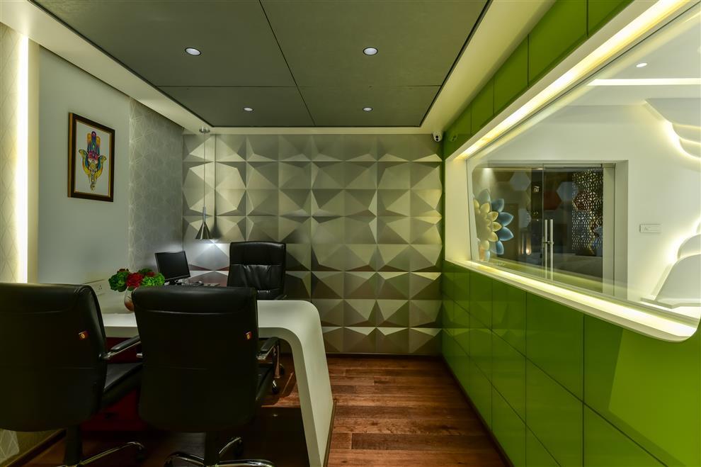 Bhavya Kenkare Office For Yogiraj Executive Cabin