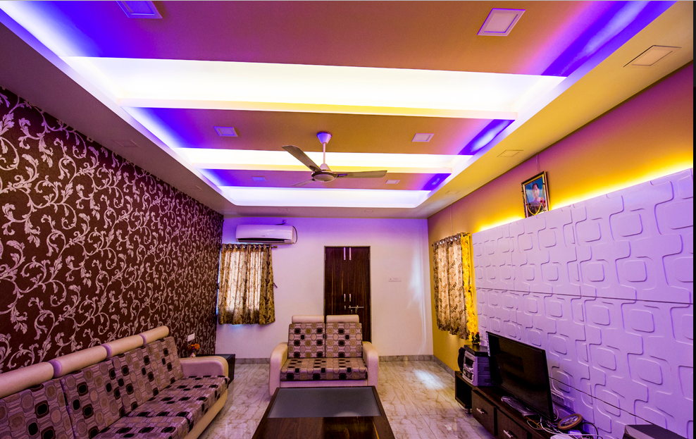 Trupti Ladda Residential Bungalow Interior Design At Malshiras, Akluj,  Solapur   Hall   Akluj, Solapur