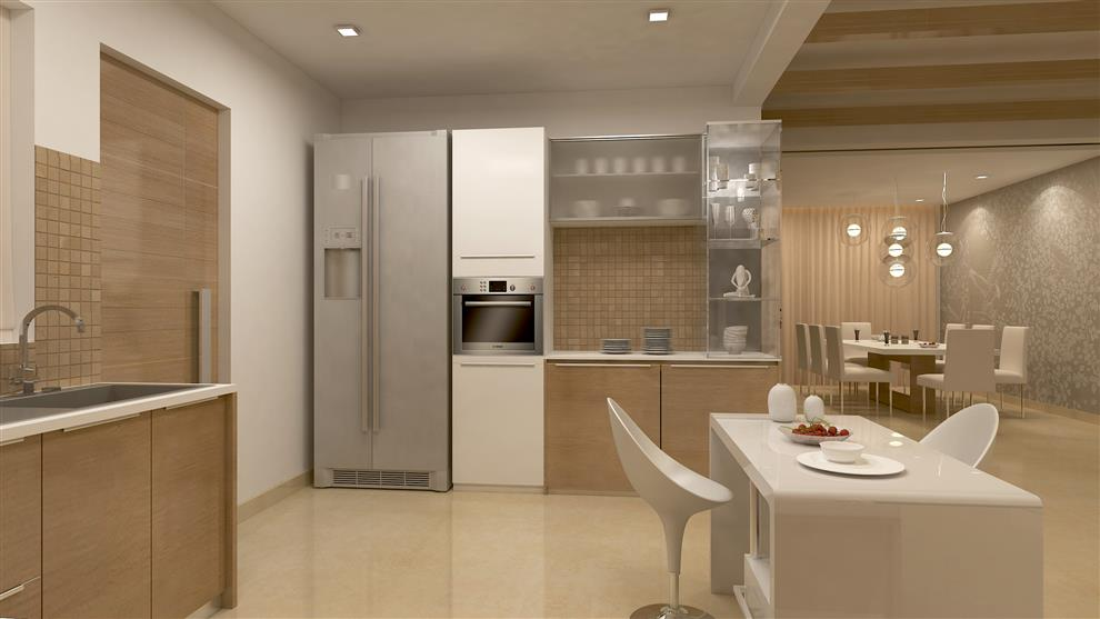 Nambiar Builders Villa Interiors At Sarjapur Bangalore Kitchen By De Panache