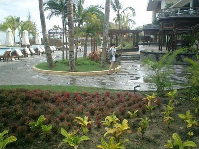 Le meridien hotel mauritius deck garden by suvarna for Terrace 9 suvarna sutera