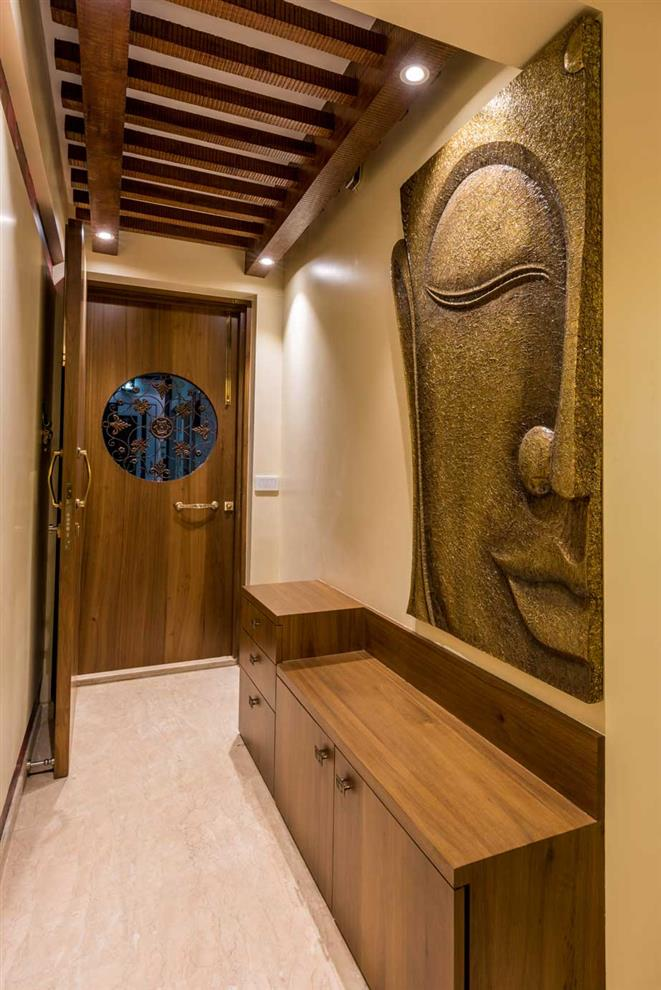 Istudio Architecture Apartment 904 Entrance Lobby Thane