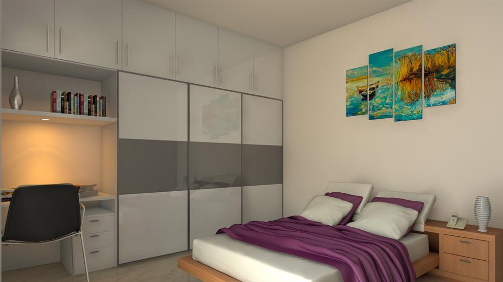 . Bed Rooms Interior Design by Vibrant