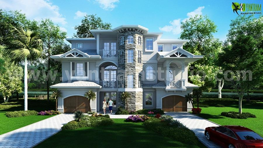 Dream House Traditional Meets Contemporary Classic Exterior