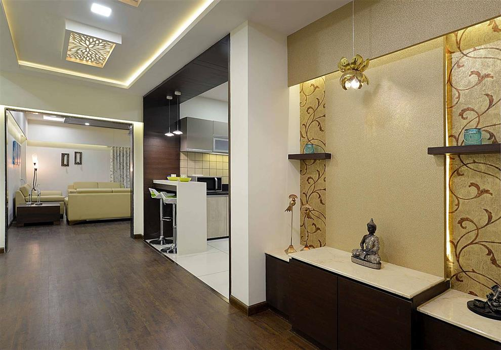 Mandir Designs Living Room Sample flat at vadodara living room mandir prayer area by chirag living room mandir prayer area by chirag sisterspd