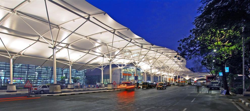 Hafeez Contractor Mial Domestic Airport Mumbai