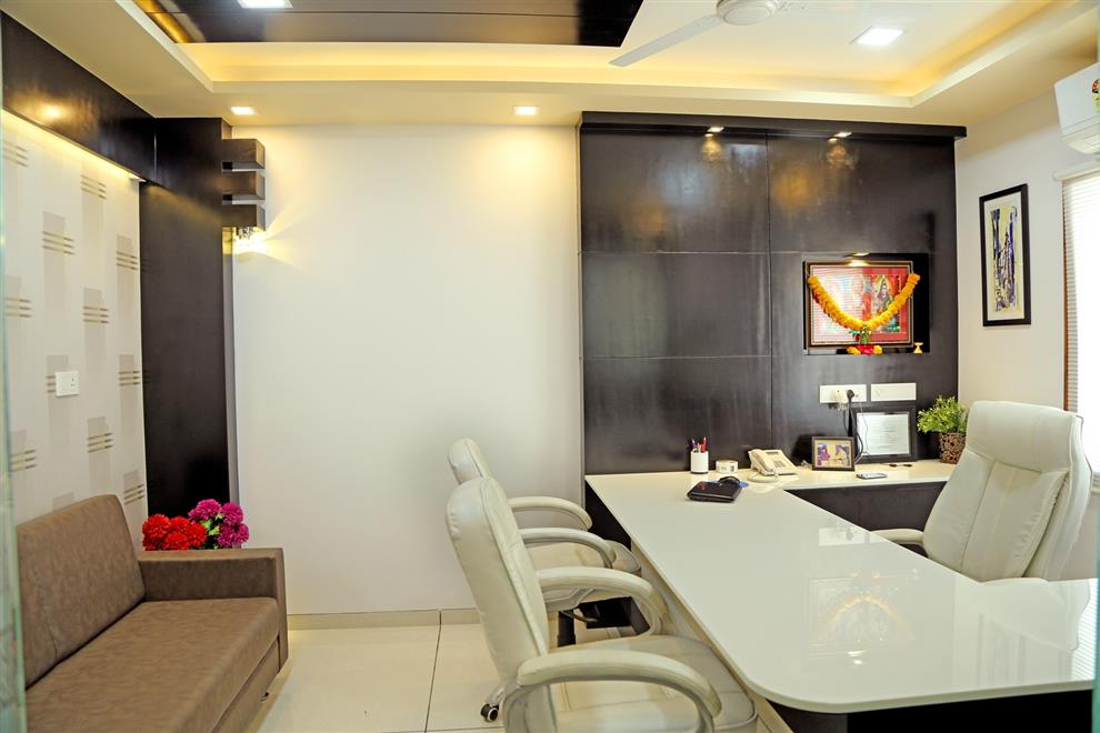 Samir shah interior of transport business office - Office cabin interior design images ...